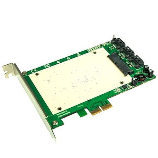 כרטיס pci-e ssd + sata 6G adapter דגם A-550